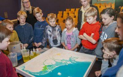 3D Waterkaart van Nederland